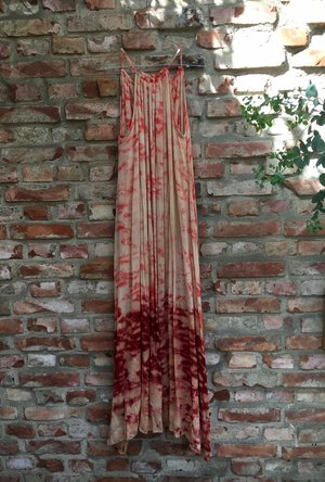 Claire Maxi Dress Blood Orange from Rabens Saloner