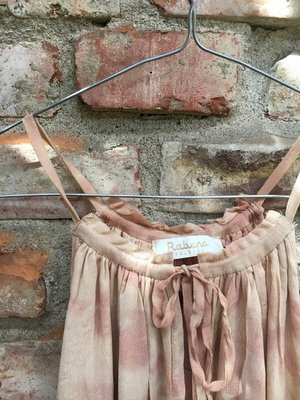 Claire Maxi Dress Rose Cognac from Rabens Saloner