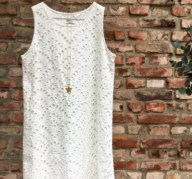 A-line silhouette dress
