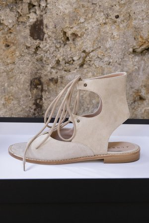 Corinne suede sandals by Alberville