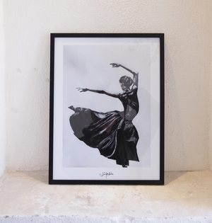 Dancer Print by Lisa Rendahl