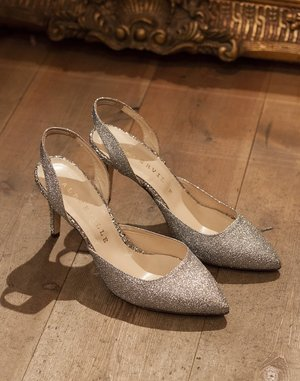 Glitter pumps by Alberville