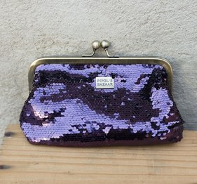 Fiesta Glimmer Purse Purple by Pipol's Bazaar