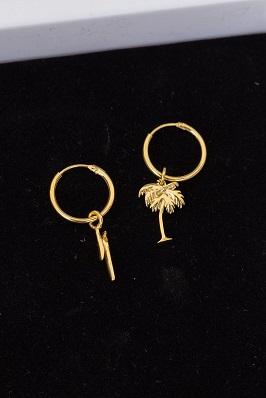 Dangling hoop earring från Syster P